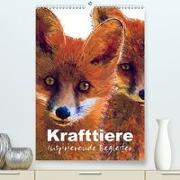 Krafttiere - Inspirierende Begleiter voller Magie und Seele(Premium, hochwertiger DIN A2 Wandkalender 2020, Kunstdruck in Hochglanz)