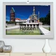 Hessen Highlights(Premium, hochwertiger DIN A2 Wandkalender 2020, Kunstdruck in Hochglanz)