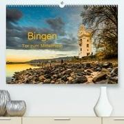 Bingen - Tor zum Mittelrhein(Premium, hochwertiger DIN A2 Wandkalender 2020, Kunstdruck in Hochglanz)
