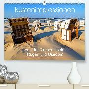 Küstenimpressionen von den Ostseeinseln Rügen und Usedom(Premium, hochwertiger DIN A2 Wandkalender 2020, Kunstdruck in Hochglanz)