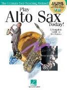 Play Alto Sax Today!: Beginner's Pack: Method Books 1 & 2 Plus Online Audio & Video