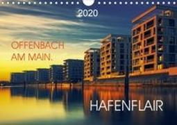 Offenbach am Main Hafenflair (Wandkalender 2020 DIN A4 quer)