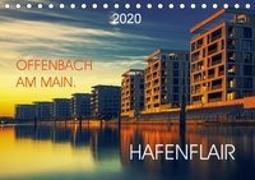 Offenbach am Main Hafenflair (Tischkalender 2020 DIN A5 quer)