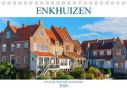 Enkhuizen - historische Hafenstadt am Ijsselmeer (Tischkalender 2020 DIN A5 quer)