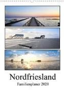 Nordfriesland - Familienplaner (Wandkalender 2020 DIN A3 hoch)