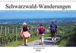 Schwarzwald-Wanderungen (Wandkalender 2020 DIN A4 quer)