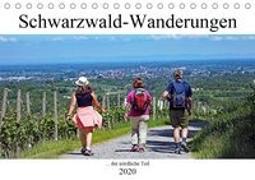 Schwarzwald-Wanderungen (Tischkalender 2020 DIN A5 quer)