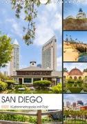 SAN DIEGO Küstenmetropole mit Flair (Wandkalender 2020 DIN A4 hoch)