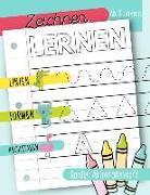 Zeichnen lernen: Linien Formen Buchstaben: Kinder Aktivitätenheft: Ab 3 Jahren: Ein Aktivitätenheft für Kleinkinder, Vorschulkinder & K