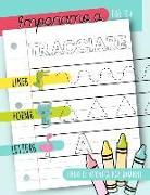 Impariamo a tracciare: Linee forme lettere: Libro di attività per bambini: Età 3+: Un libro di attività per bambini in età prescolare e scola