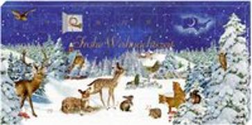 Adventskalender-Schokolade - Winterlandschaft