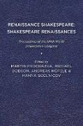 Renaissance Shakespeare/Shakespeare Renaissances
