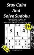 Stay Calm And Solve Sudoku #14