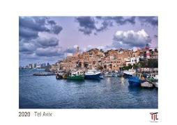 Tel Aviv 2020 - White Edition - Timokrates Kalender, Wandkalender, Bildkalender - DIN A3 (42 x 30 cm)