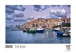 Tel Aviv 2020 - Timokrates desk calendar with UK holidays / picture calendar / photo calendar - DIN A5 (21 x 15 cm)