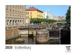 Gothenburg 2020 - Timokrates desk calendar with UK holidays / picture calendar / photo calendar - DIN A5 (21 x 15 cm)