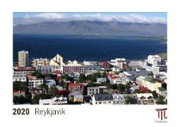Reykjavik 2020 - Timokrates desk calendar with UK holidays / picture calendar / photo calendar - DIN A5 (21 x 15 cm)