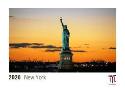 New York 2020 - Timokrates Kalender, Tischkalender, Bildkalender - DIN A5 (21 x 15 cm)
