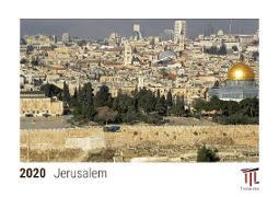 Jerusalem 2020 - Timokrates Kalender, Tischkalender, Bildkalender - DIN A5 (21 x 15 cm)