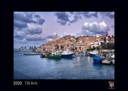 Tel Aviv 2020 - Black Edition - Timokrates Kalender, Wandkalender, Bildkalender - DIN A4 (ca. 30 x 21 cm)