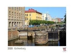 Gothenburg 2020 - White Edition - Timocrates wall calendar with US holidays / picture calendar / photo calendar - DIN A3 (42 x 30 cm)
