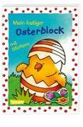 Mein lustiger Osterblock mit Stickern