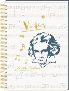 Ringbuch DIN A4 - All about music - Notes Edition Beethoven