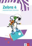 Zebra 4. Heft Lesen/Schreiben ausleihfähig