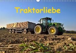 Traktorliebe (Wandkalender 2020 DIN A3 quer)