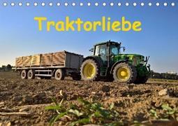 Traktorliebe (Tischkalender 2020 DIN A5 quer)