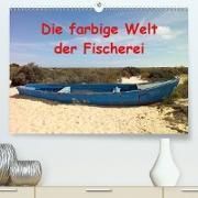 Die farbige Welt der Fischer (Premium, hochwertiger DIN A2 Wandkalender 2020, Kunstdruck in Hochglanz)
