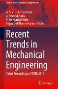 Recent Trends in Mechanical Engineering: Select Proceedings of Icime 2019