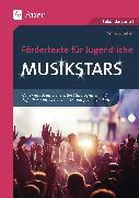 Fördertexte für Jugendliche - Musikstars