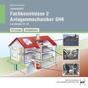 Arbeitsheft mit eingetragenen Lösungen auf CD Fachkenntnisse 2 Anlagenmechaniker SHK
