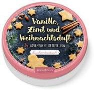 Dose groß Vanille, Zimt und Weihnachtsduft. 24 weihnachtliche Rezepte von Kuchentratsch