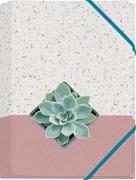 Plant it - Love it! Mini-Sammelmappe Motiv Sukkulente