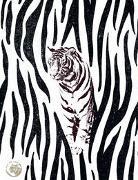 Save the Tiger Großes Notizheft Motiv Auf der Pirsch