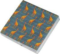 Die Tiere Afrikas Papierservietten Motiv Giraffe