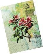 Die Gärten der Künstler Bunte Sichthülle Motiv Blütenstrauch