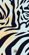 Save the Tiger Schmales Notizheft Motiv Tigerfell