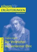 Der Verbrecher aus verlorener Ehre von Friedrich Schiller