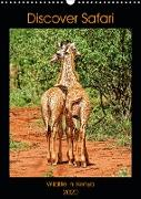 Discover Safari Wildlife in Kenya (Wall Calendar 2020 DIN A3 Portrait)