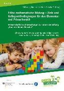 Frühe mathematische Bildung - Ziele und Gelingensbedingungen für den Elementar- und Primarbereich