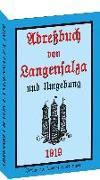 Adreßbuch / Einwohnerbuch der Stadt Langensalza 1919