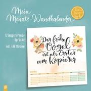 "Mein Monats-Wandkalender ""live - love - teach"""