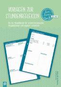 """Vorlagen zur Stundenreflexion """"live – love – teach"""""""