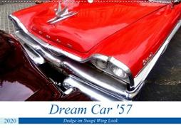 Dream Car '57 - Dodge im Swept Wing Look (Wandkalender 2020 DIN A2 quer)