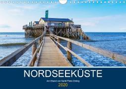 Nordseeküste Am Strand von Sankt Peter-Ording (Wandkalender 2020 DIN A4 quer)