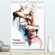 Tango Argentino - Zauber der Umarmung (Premium, hochwertiger DIN A2 Wandkalender 2020, Kunstdruck in Hochglanz)