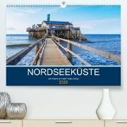 Nordseeküste Am Strand von Sankt Peter-Ording (Premium, hochwertiger DIN A2 Wandkalender 2020, Kunstdruck in Hochglanz)